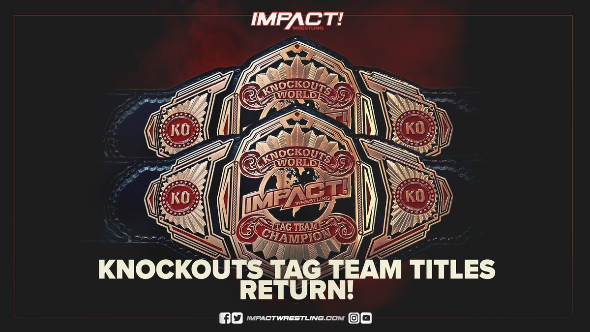 Impact Announces Knockouts Tag Titles Are Returning At Next PPV