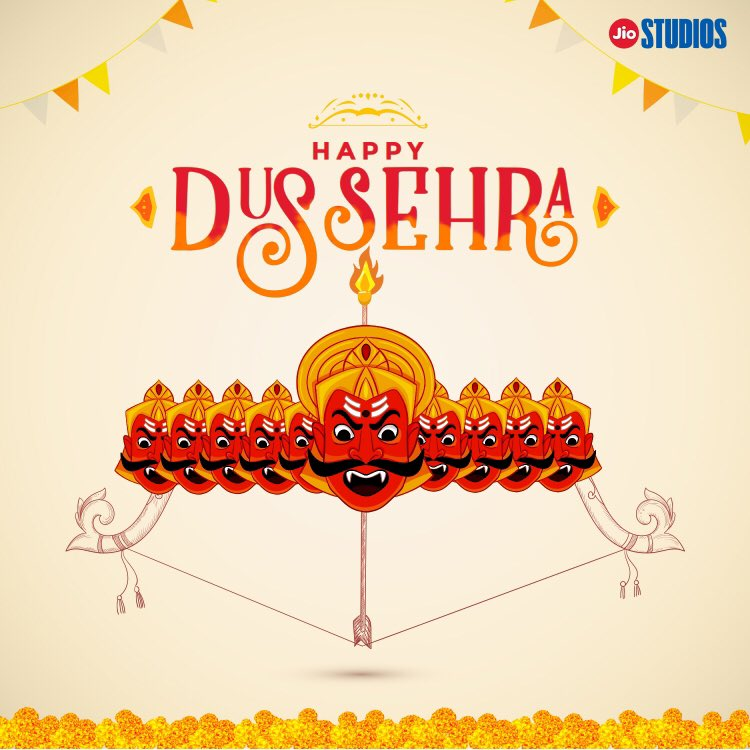 It's time to celebrate the victory of good over evil. A very happy Dussehra to you and your loved ones. #Dussehra2020