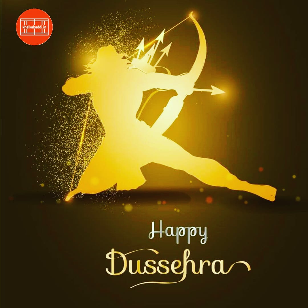 Team Khel Kabaddi wishes a very happy dussehra to all  #khelkabaddi #Dussehra #Dussehra2020 #Vijayadashami