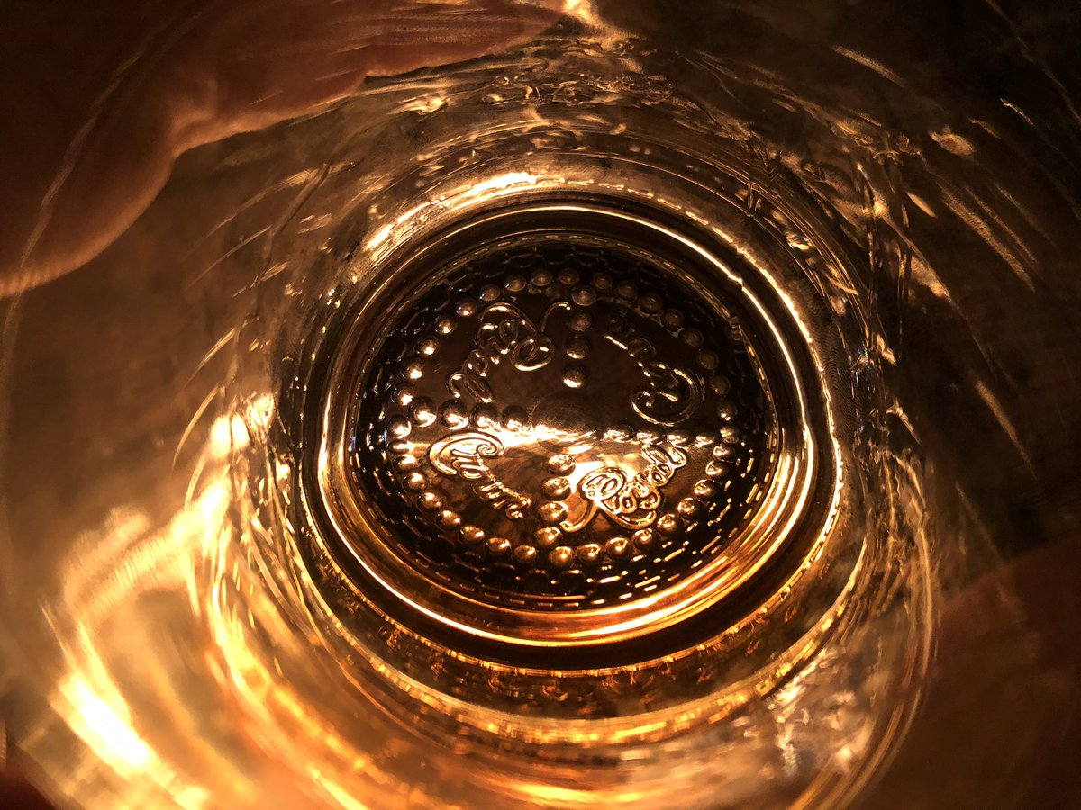 No, it's not .@CrownRoyal in the glass, but I thought it was a great pic.   This is True Blue 100 from @BalconesWhisky as seen through a Crown glass, backlit by a Colorado spruce campfire.   #bourbon #whiskey #bourbonnight https://t.co/qeggIbptoW