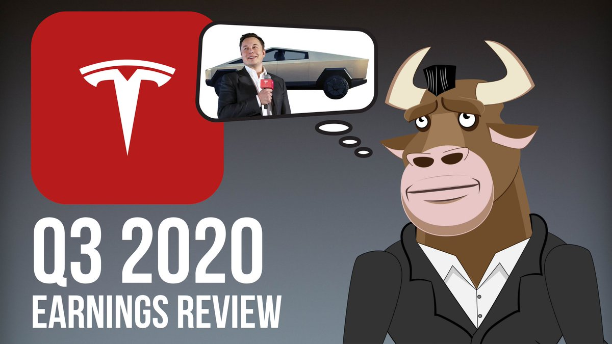 In my latest #YouTube video, I talk about $TSLA Q3 2020 earnings. Revenue, earnings, deliveries, all of that good stuff. I also talk about three things @elonmusk said during the earnings call, that I found super interesting #Tesla #ElonMusk https://t.co/TfXXT5Gjcs https://t.co/uALjHNXzEi