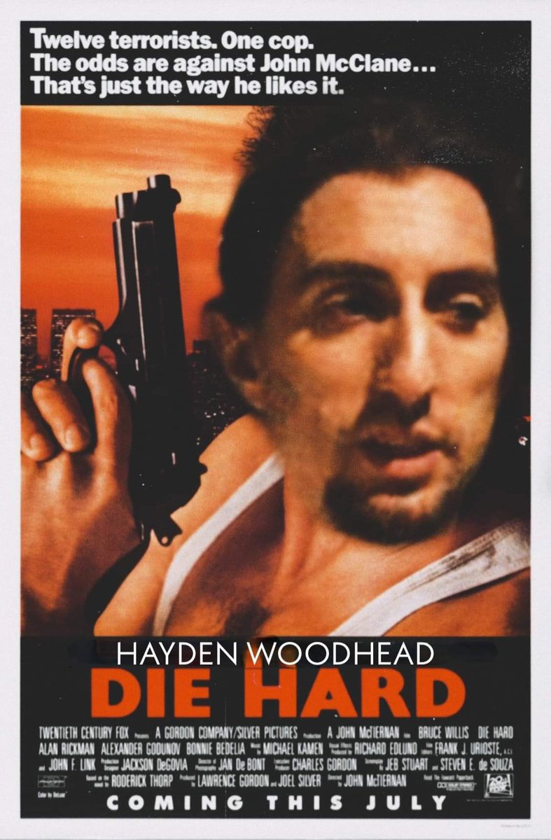 So maybe Hayden didn't play John Maclean in 'Die Hard' but he gets into a story of when he saw the Nakatomi tower on an ep.   https://t.co/zqcprut2oX  #podcast #podcastrecommendations #woodenbullsonaparade #podcasts #podcastshow #diehard #moistmustache #SaturdayThoughts #Saturday https://t.co/6VFudwodfe