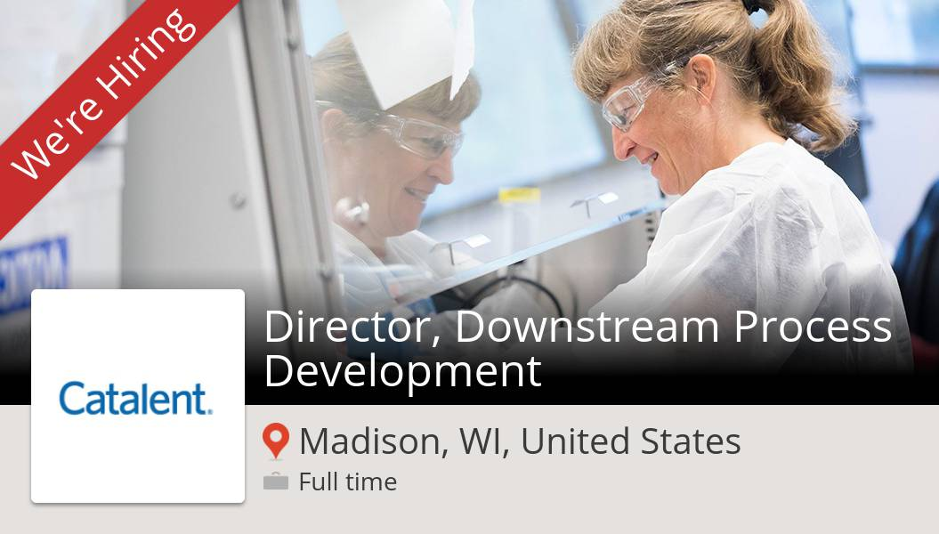 Apply now to work for #Catalent as #Director, Downstream #Process Development in #Madison! #job https://t.co/IOstXdPZ59 https://t.co/ooOHBblsFc