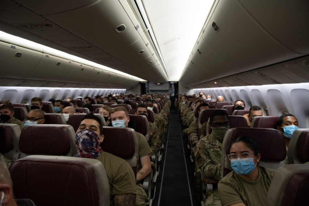 In trying times, #USAF readiness remains. Aviano Air Bases 606th Air Control Squadron deployed Airmen and assets from 13 different Air Force Specialty Codes to six locations across Southwest Asia. #ReadyAF #AimHigh go.usa.gov/x7CDg