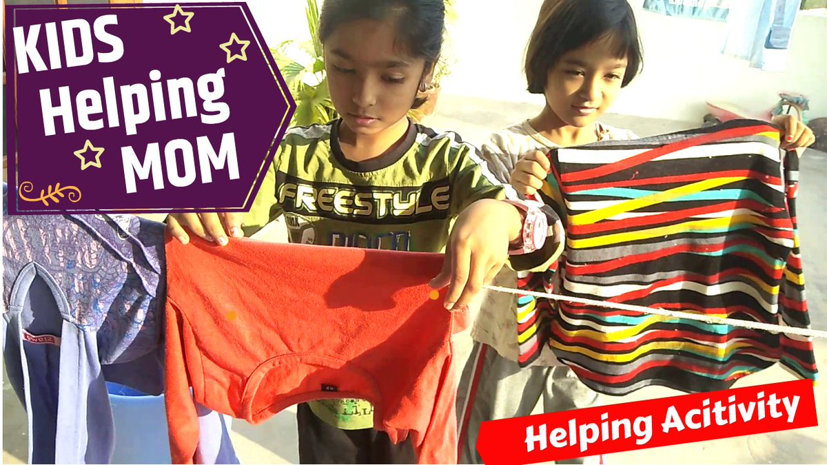 #Holiday #Kids #Mom #household #Activity Kids Helping mom in household https://t.co/dD7vF51lek via @YouTube https://t.co/oVXl1BHIXc