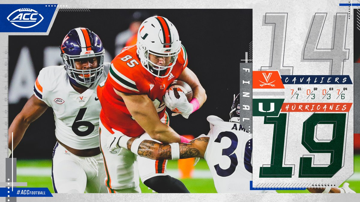 @ACCFootball's photo on Canes