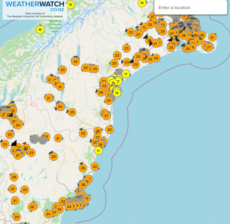 Like Stuff, Herald etc - you can quote airport temperatures. OR, like the rest of #NewZealand, you can report *local* temperatures!  Over 3000 stations, more than the 3 Government forecasters combined! (which *All* NZ mainstream news media contract to 🙃)  https://t.co/ePWOLTWy4u https://t.co/nmvWWGzcR4