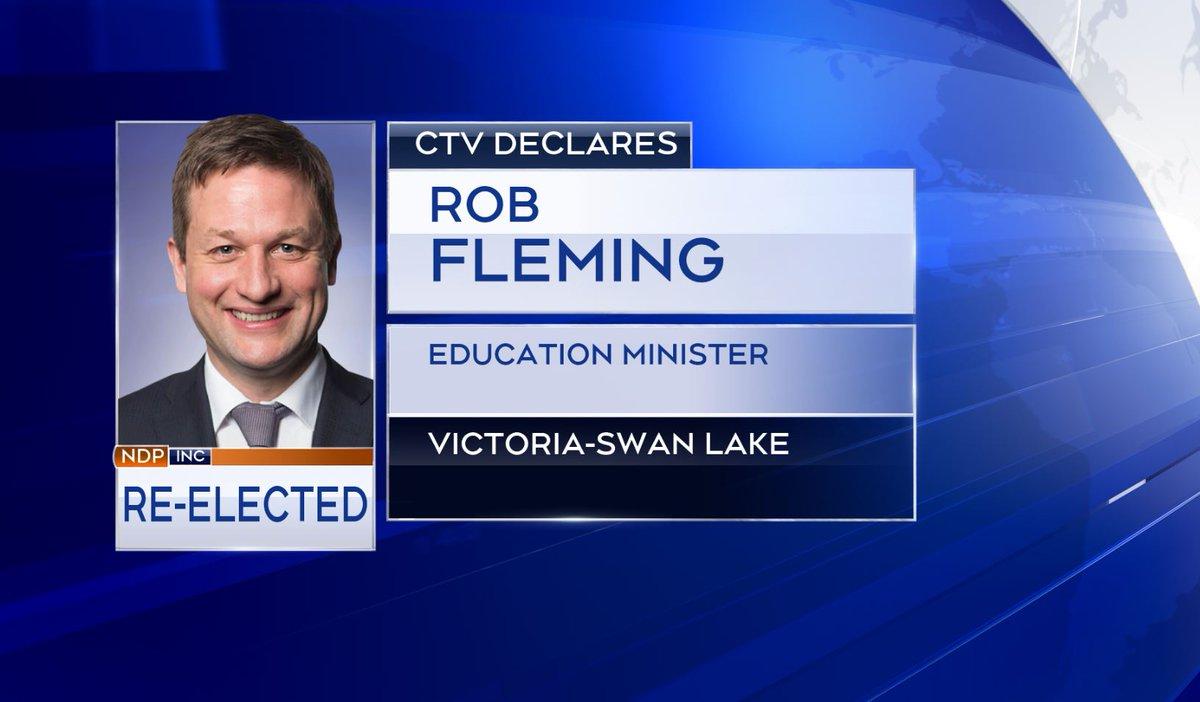 CTV News declares Rob Fleming as MLA for Victoria-Swan Lake:  https://t.co/UhokzetSep https://t.co/YXskElqVJb