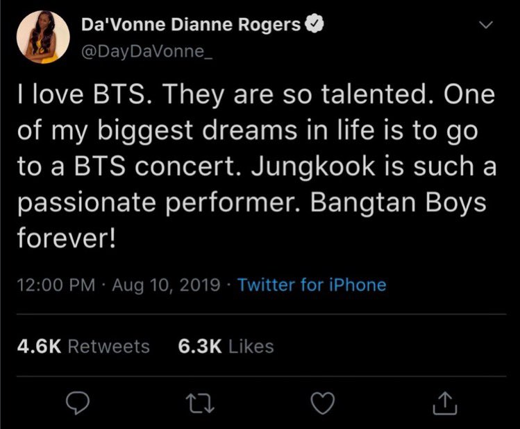 #BTS #Army #bb22 Hello Army, a BTS fan named Da'Vonne Rogers is in dire need of your help. Da'Vonne is a contestant on a reality show called Big Brother. She is currently in the running for a $25,000 prize that will be given to the winner of a vote for America's Favorite Player. https://t.co/ec8iwbZNQw