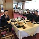 Image for the Tweet beginning: こんにちは、指導員の後藤です😃先日スポーツの秋と言いましたが、実はステーキを食べにゴルフをしにいきました。食欲の秋でした🥩皆さんも色々な秋を楽しんでくださいね!!