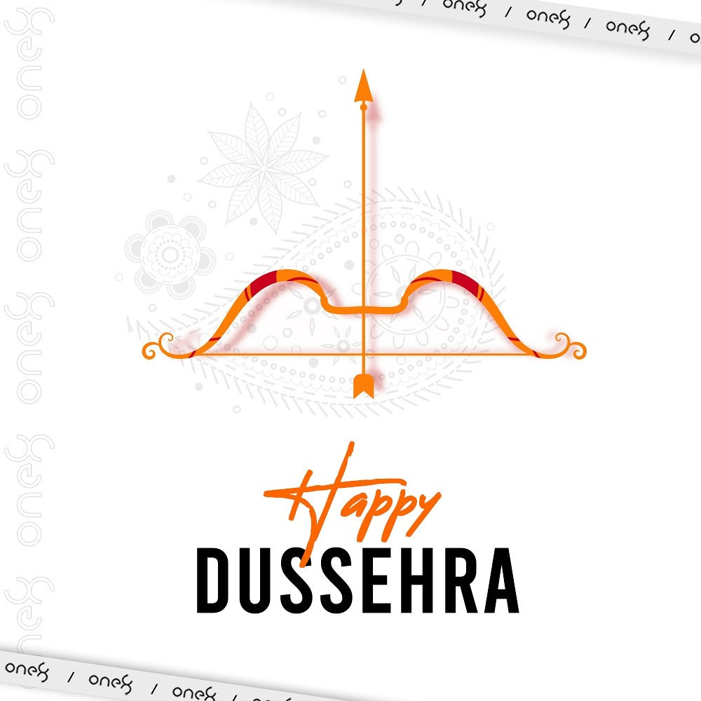 On the joyous occasion of Dussehra, may you all be showered with all the goodness in the world. 🏹 #HappyDussehra