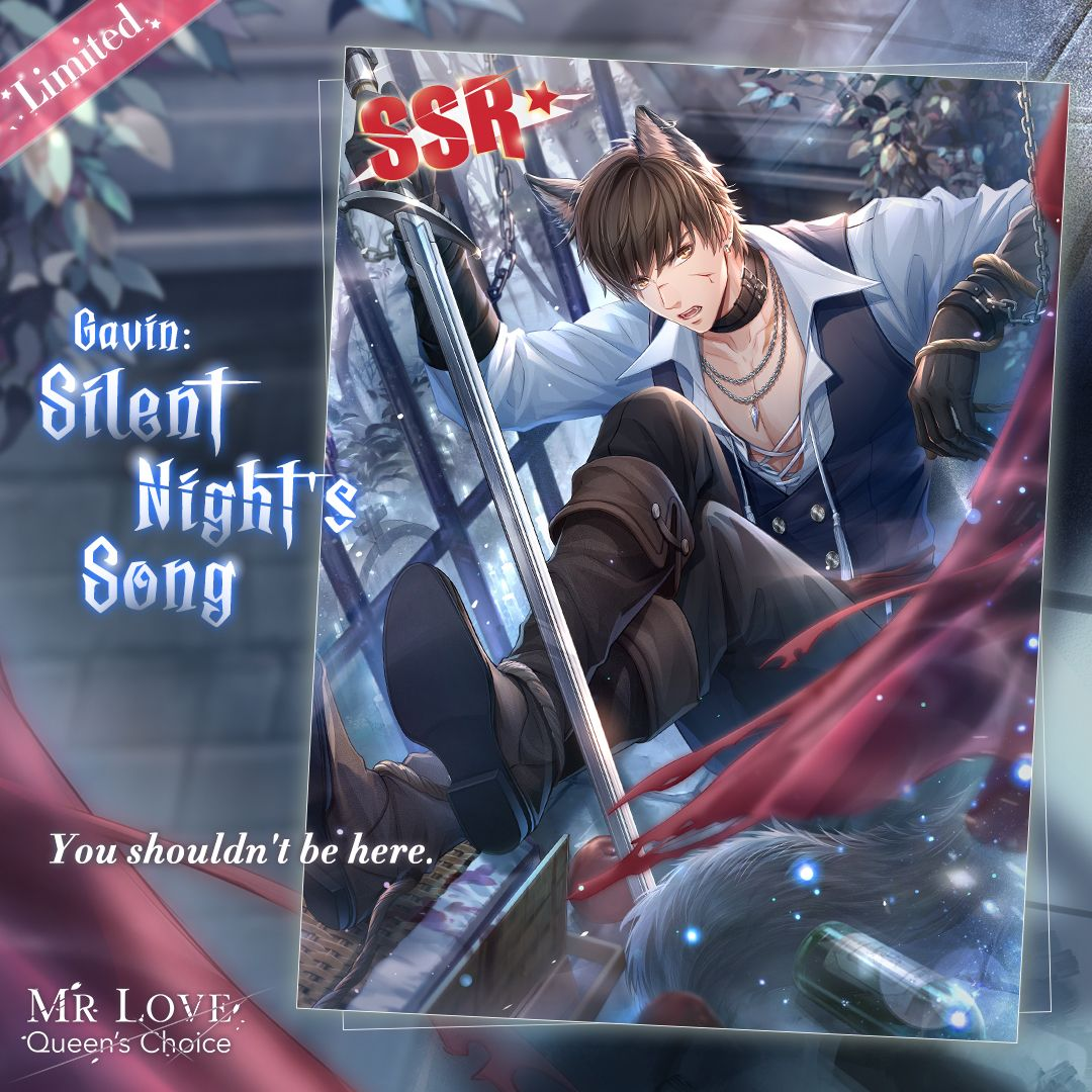 🐺 New SSR [Gavin: Silent Night's Song] will be available at Wish Tree & its Redeem Store!  🐺  Little Red Riding Hood [Fullmoon Date] To become a hunter, you head to a castle where the Mr.Wolf is locked up. On a full moon night, his secrets are waiting for you to uncover.  #MLQC https://t.co/teyFM38rHr
