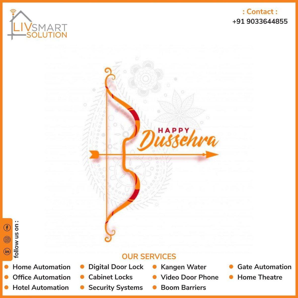 #Dussehra #Homeautomation #Livsmart #TronXthingsAhmedabad #Homesecurity #TronXthings #Epic #doorlock #cabinetlock #officeautomation #alexa #smartron #kangenwater #Ahmedabad #Gandhinagar #sargasan #raisan #gujarat #makeinindia #smarthome #Happynetworking https://t.co/LB7I6hjE0G