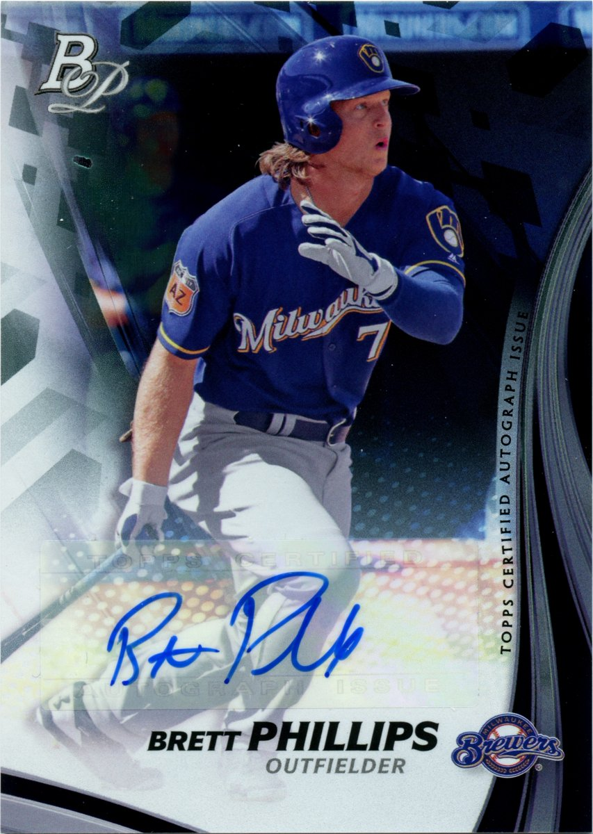 I'm so pumped for @Brett_Phillips8 that I'm going to do a free giveaway of his Bowman Platinum auto! RT and Follow to enter. Drawing on 10/27! #Giveaway #Collect #WorldSeries #WorldSeries2020 #TampaBayRays #RaysUp https://t.co/DbrOAo8Ecm