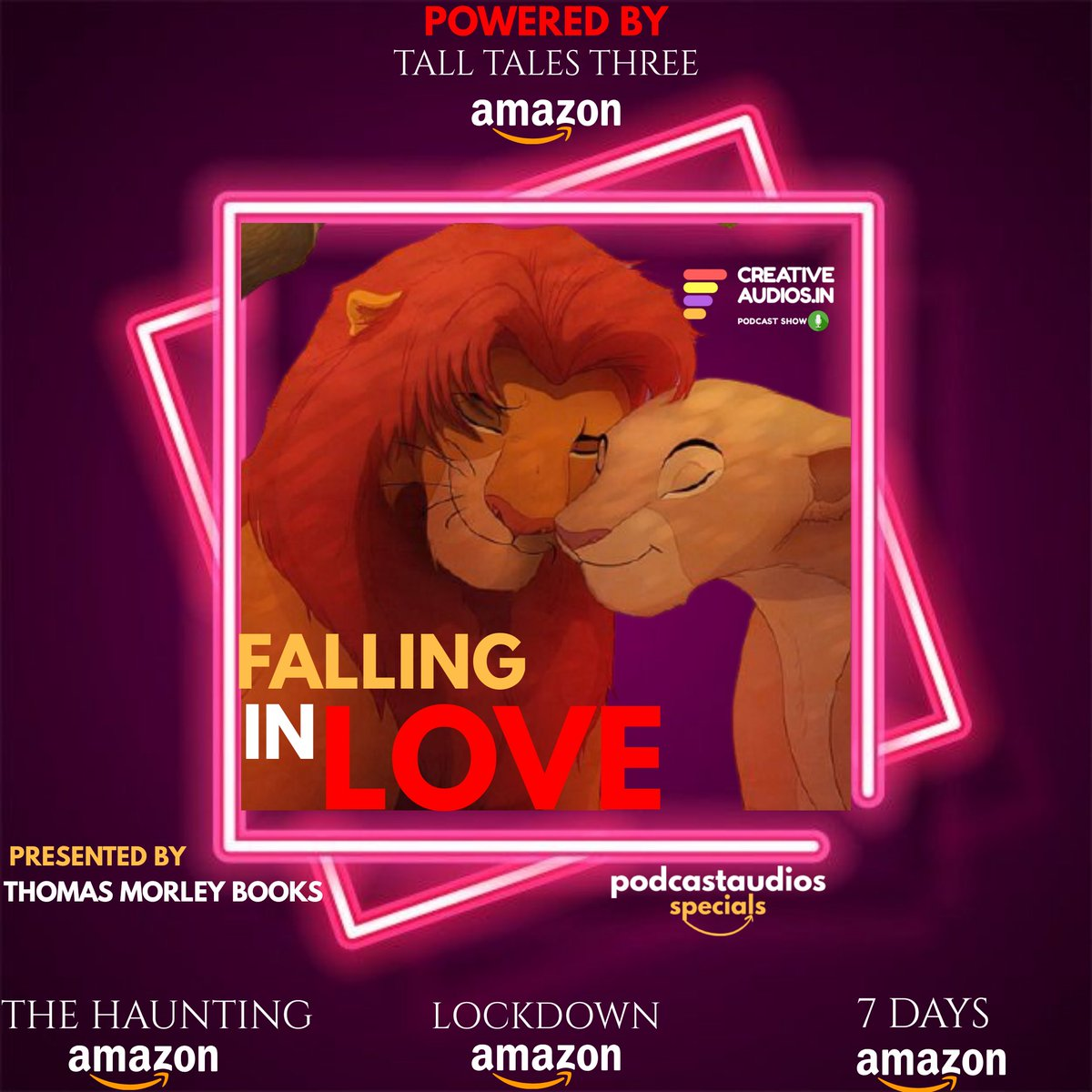OUR MOST AWAITED EPISODE👇 https://t.co/2HD9Sp8B9O FALLING IN LOVE ❤️  Listen exclusive now☝️ From The BEST FICTION STORYTELLING PODCAST  SERIES #contentmarketing #podcastlife #podcastshow #podcastaddict #podcasthost #podcastnetwork #podcastlifestyle #itunes #videoproduction https://t.co/IEtdNlDMnt