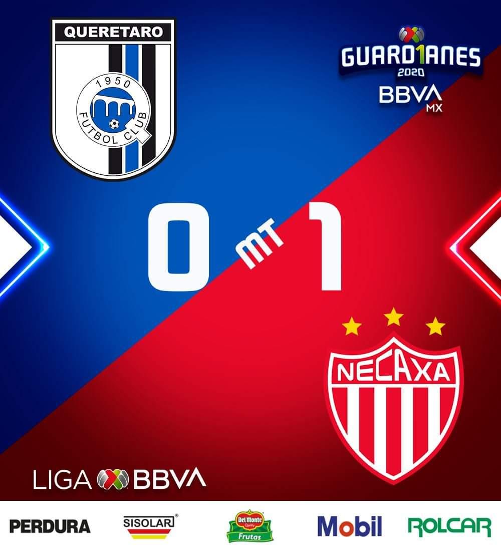 Por Gustavo Herrera  🏆⚽️ GUARDIANES 2020 BBVA MX 🏆⚽️ JORNADA 15 SÁBADO QUERETARO 🐔 VS NECAXA ⚡, TIGRES 🐯 VS FC JUÁREZ 🐴, MAZATLÁN ⚓ VS MONTERREY 🤠 Y AMÉRICA 🦅 VS ATLAS 🦊  Foto: Liga MX https://t.co/0EmW1SAKZv