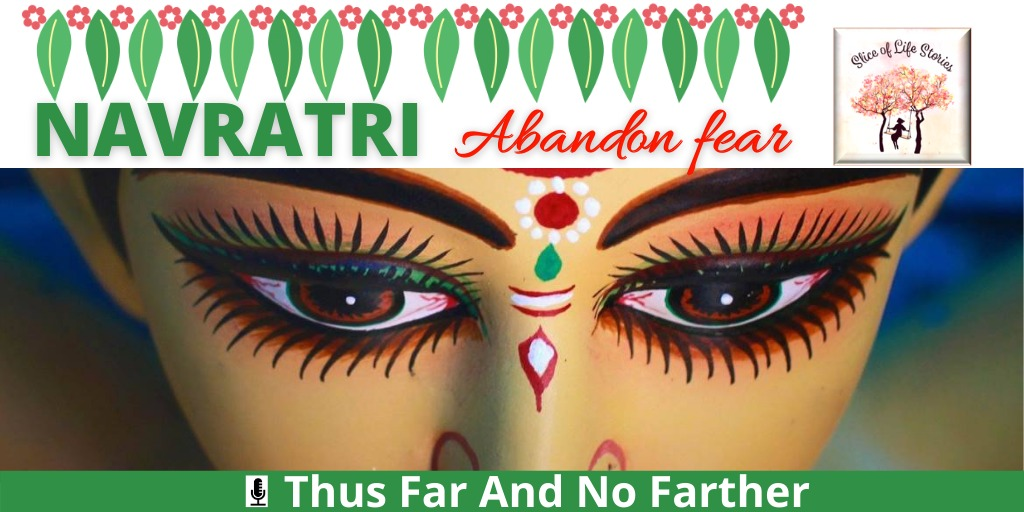 #NAVRATRI Abandon fear, with🎙Thus Far And No Farther  ▶ https://t.co/f1kplRJQ7A  #golu #navarathri #navratri #bommaigolu #festival #festivals #events #celebration #celebrate #happy #family #navratrifestival #durga #durgapooja #ayutha #saraswathi #pooja #story #stories #podcast. https://t.co/rufsW9VSKI