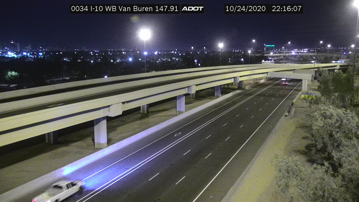 QUIZ ANSWER: This camera is located on I-10 and Van Buren in Phoenix. Thanks for playing! #AZ511