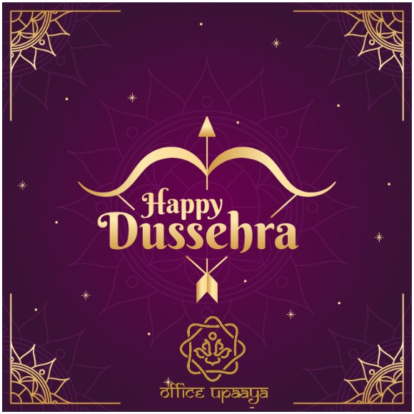 May this Dussehra fill your life with happy moments, positivity and fulfill all your dreams. Happy Dussehra!  #officeupaaya  #dussehra #raavan #evil #yantra #astrology #grahas #goodtime #pooja #worship #wealth https://t.co/NCMySYMPiR