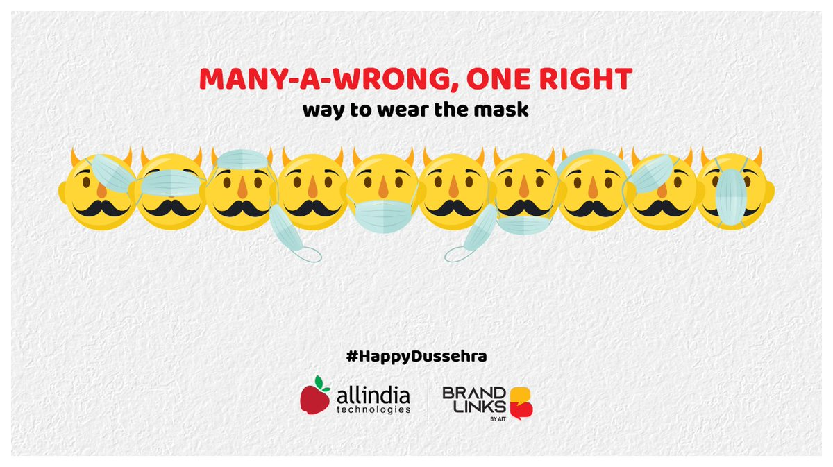 This year, may safety be our mantra to celebrate the pujas. #AIT wishes you #happydussehra2020 #HappyDussehra https://t.co/5LU3hzIQdW