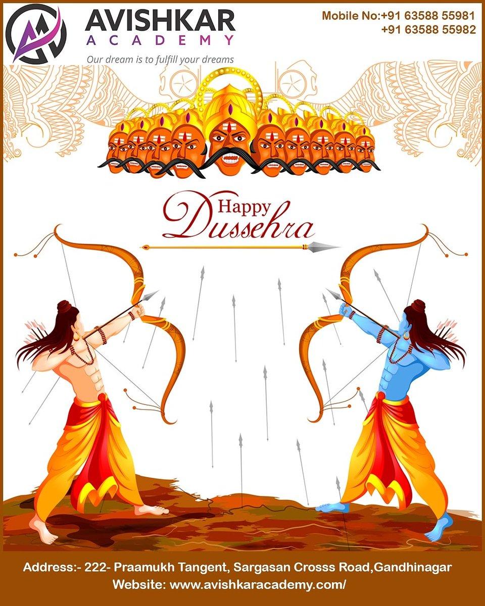 आपको एक उज्ज्वल, खुश और शांतिपूर्ण दशहरा और विजयदशमी की हार्दिक शुभकामनाएँ  Wish you Happy Dussehra  #HappyDussehra #navratri #happy2020 #celebration #wishing #Happy #Bharat #garba #happy #NEET #JEE #Admission #Open  #teaching #learning #classes #study #avishkarclasses https://t.co/dMvXezB6jt