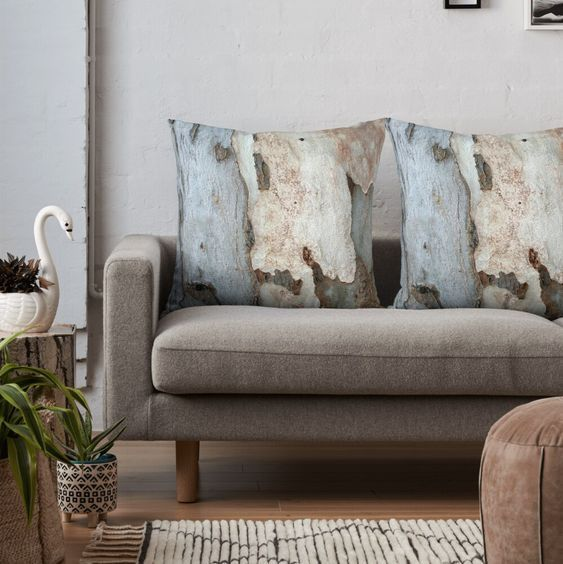 #Bark #Texture #Eucalyptus #Tree #ThrowPillow by #taiche | Redbubble #ThrowPillows #Pillows with an #aesthetic and a #functional purpose. #Decorativepillows tie in #coloraccents and give a #casualfeel Use on sofas, chairs, couches, and beds. https://t.co/Jebrt5LOhF https://t.co/DyHyD67aVe