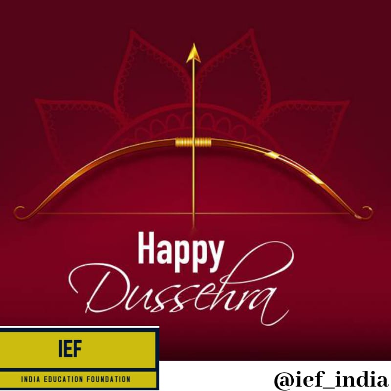 HAPPY DUSSEHRA FROM INDIA EDUCATION FOUNDATION FAMILY 😇🙏🙏 . . #festival #happy #fun #success #goals #post #webinar #memes #india #amazon #business #love #art #science #english #math #instagram #picture #photography #style #post #cash #Contest #children #parents  #exams #work https://t.co/yqQMZBZ7hn