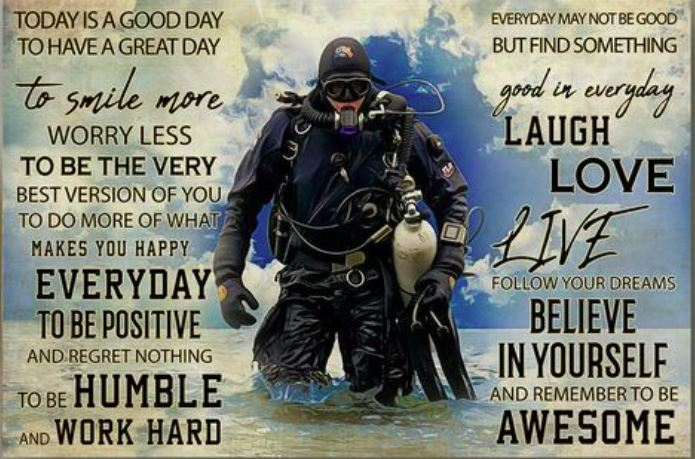As an active scuba diver I love this image. However, the messaging is relevant to us all...……#outdooradventure #Mindfulness #getirelandactive #positivethinking #scubadiving #walking https://t.co/EWfh87Jtwn