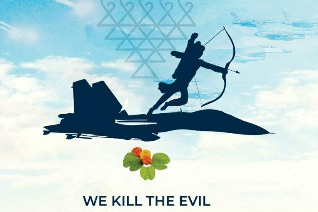 We Kill The Evil. #HappyDussehra