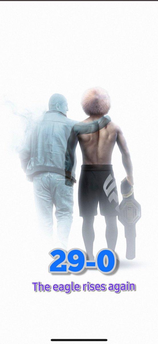 Alhamdulillah @TeamKhabib #UFC254 #UFCFightIsland #Khabib #khabibnurmagomedov #UFCFightIsland6 @ufc #AbuDhabi https://t.co/9zZVYJrulT