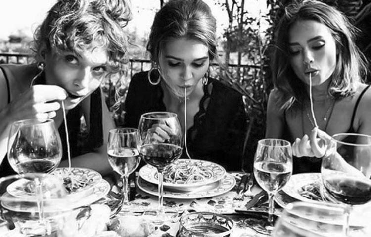 """Everything you see I owe to spaghetti."" *Sophia Loren Happy #WorldPastaDay from #CiprianiYasIsland. #YasIsland #inAbuDhabi https://t.co/keLOcckTwO"