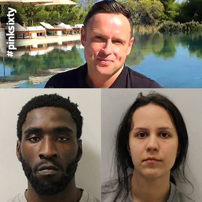 Today, a #London jury found Joel Osei and his girlfriend Diana Cristea guilty of the murder of Adrian Murphy.  The pair poisoned the champion dancer with 'Devil's Breath', stealing thousands of pounds of goods after befriending him on #Grindr. https://t.co/70fvDJA7Uy
