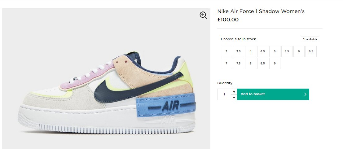 Ballin Sneaks On Twitter Wmns Nike Air Force 1 Shadow Photon Dust Royal Barely Volt On Jd Sports Uk Https T Co Gpmaoswb3a The legendary nike air force 1 has been one of the first basketball sneakers to present the air innovation for an. shadow photon dust royal barely volt