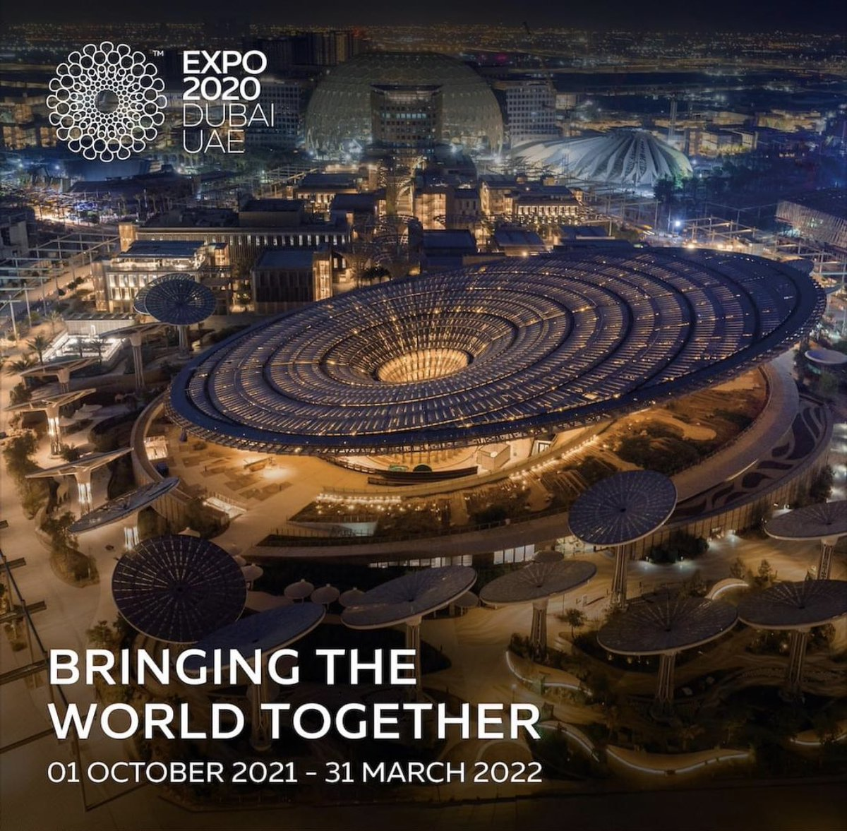 Excitement is building as we prepare to open our gates on 1 October 2021. Register now to receive the latest updates on #Expo2020 #Dubai. https://t.co/dzEIJdFBxa