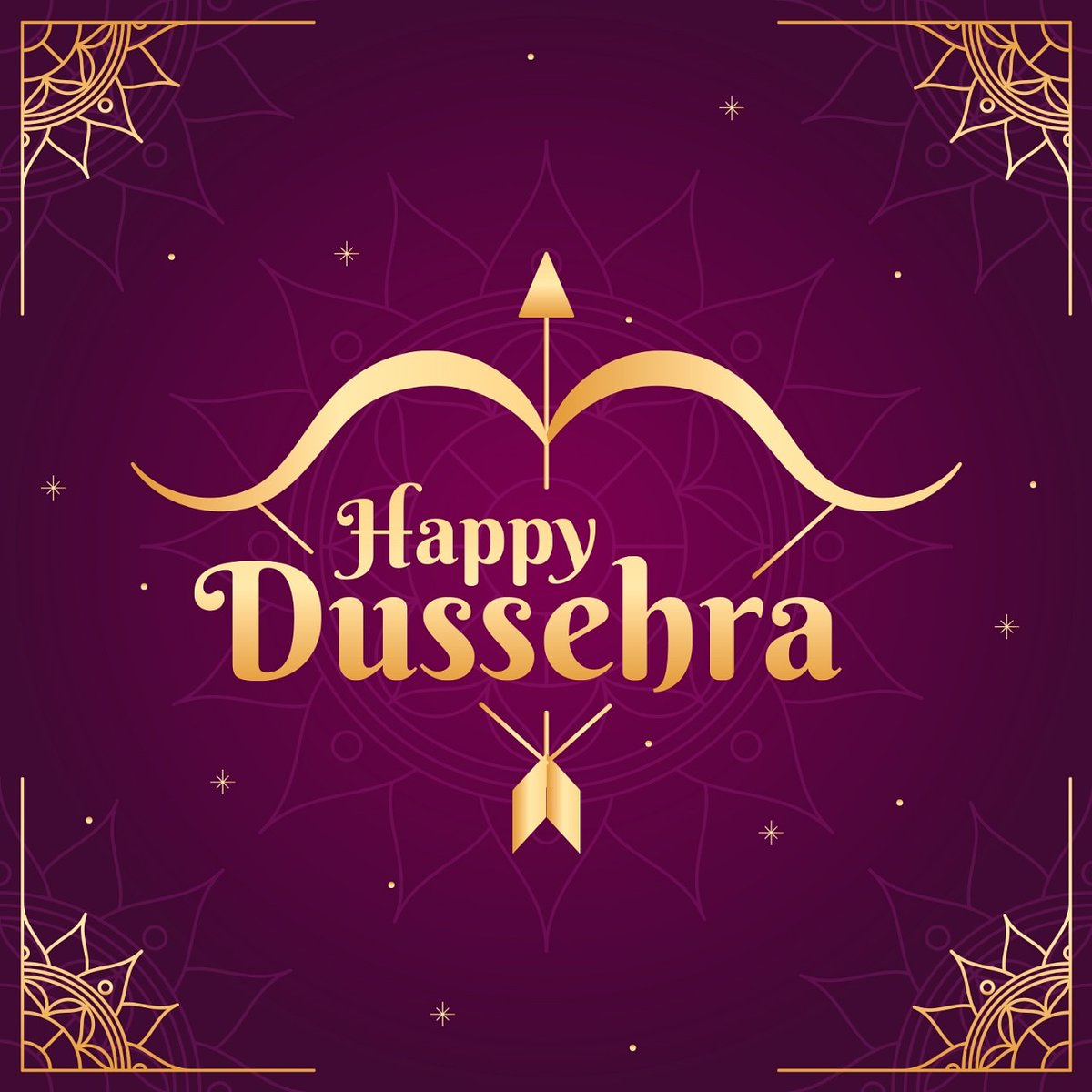 Here's to destroying all evil from our lives! Wishing everyone a #HappyDusshera