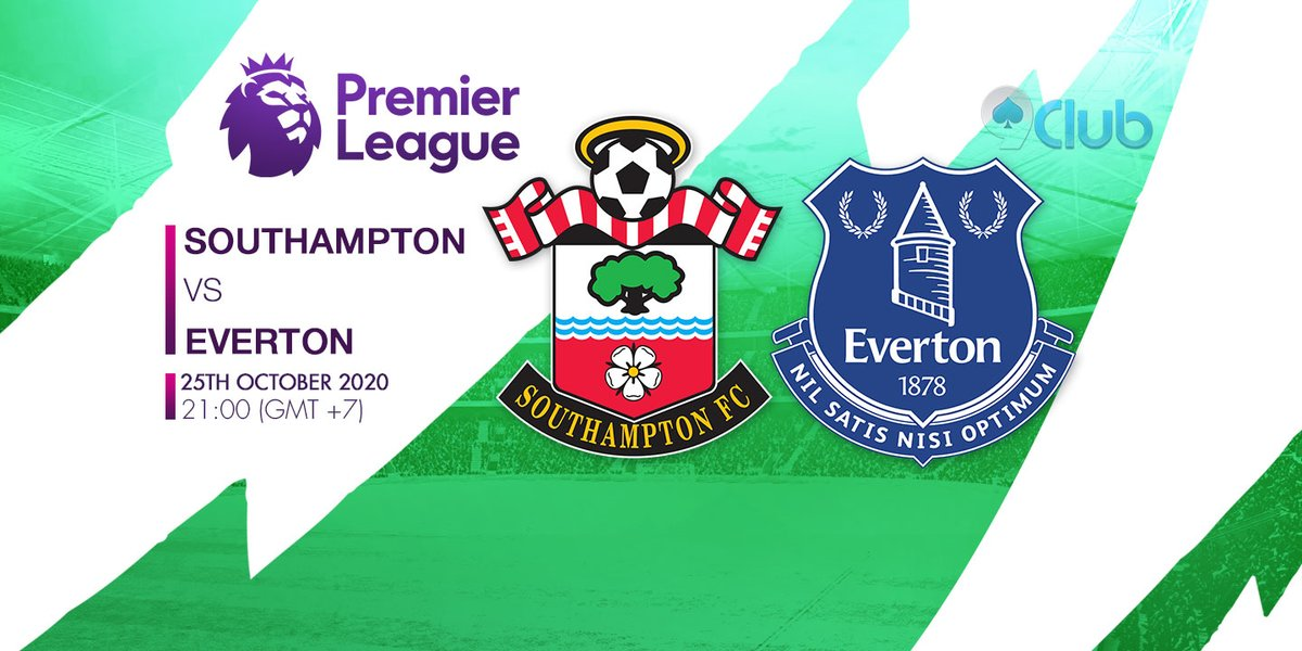 🏆🏆🏆 GIẢI BÓNG ĐÁ NGOẠI HẠNG ANH - ENGLISH PREMIER LEAGUE 🏆🏆🏆 ❤️🧡💛💚💙💜  ⚽ Southampton Vs Everton 🔔 25/10/2020 ⏰ 21:00 (GMT+7)  🔜Zalo: + 84396202978  #9clubvn #NgoạihạngAnh #Premierleague #Bóngđá #Thểthao #Southampton #Everton https://t.co/xWspdUCqQD
