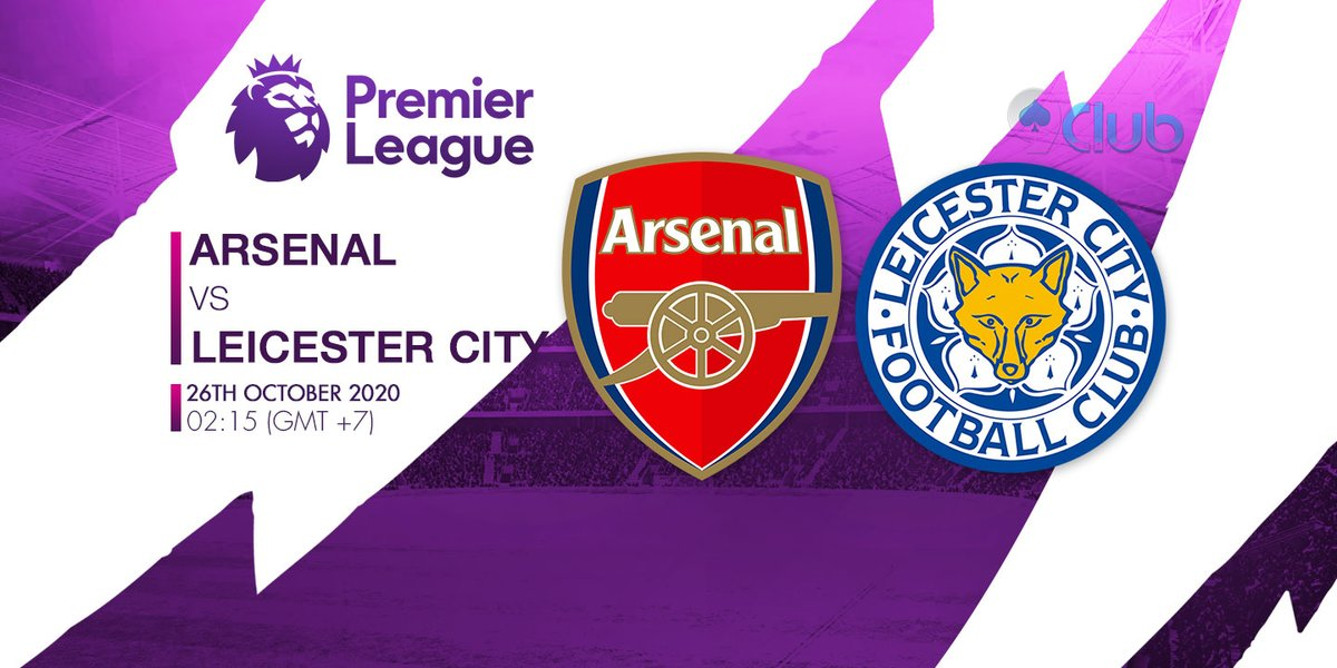 🏆🏆🏆 GIẢI BÓNG ĐÁ NGOẠI HẠNG ANH - ENGLISH PREMIER LEAGUE 🏆🏆🏆 ❤️🧡💛💚💙💜  ⚽ Arsenal Vs Leicester City 🔔 26/10/2020 ⏰ 02:15 (GMT+7)  🔜Zalo: + 84396202978  #9clubvn #NgoạihạngAnh #Premierleague #Bóngđá #Thểthao #Arsenal #LeicesterCity https://t.co/GCH93OiBlZ