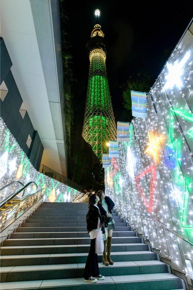 東京スカイツリータウンのクリスマス2020、約40万球が点灯するイルミネーションや限定ライティング -