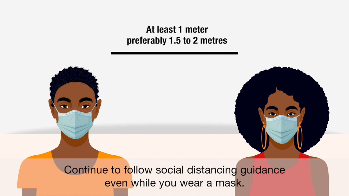 The COVID-19 pandemic is not over. 😷 Make sure youre wearing your mask correctly. 😷