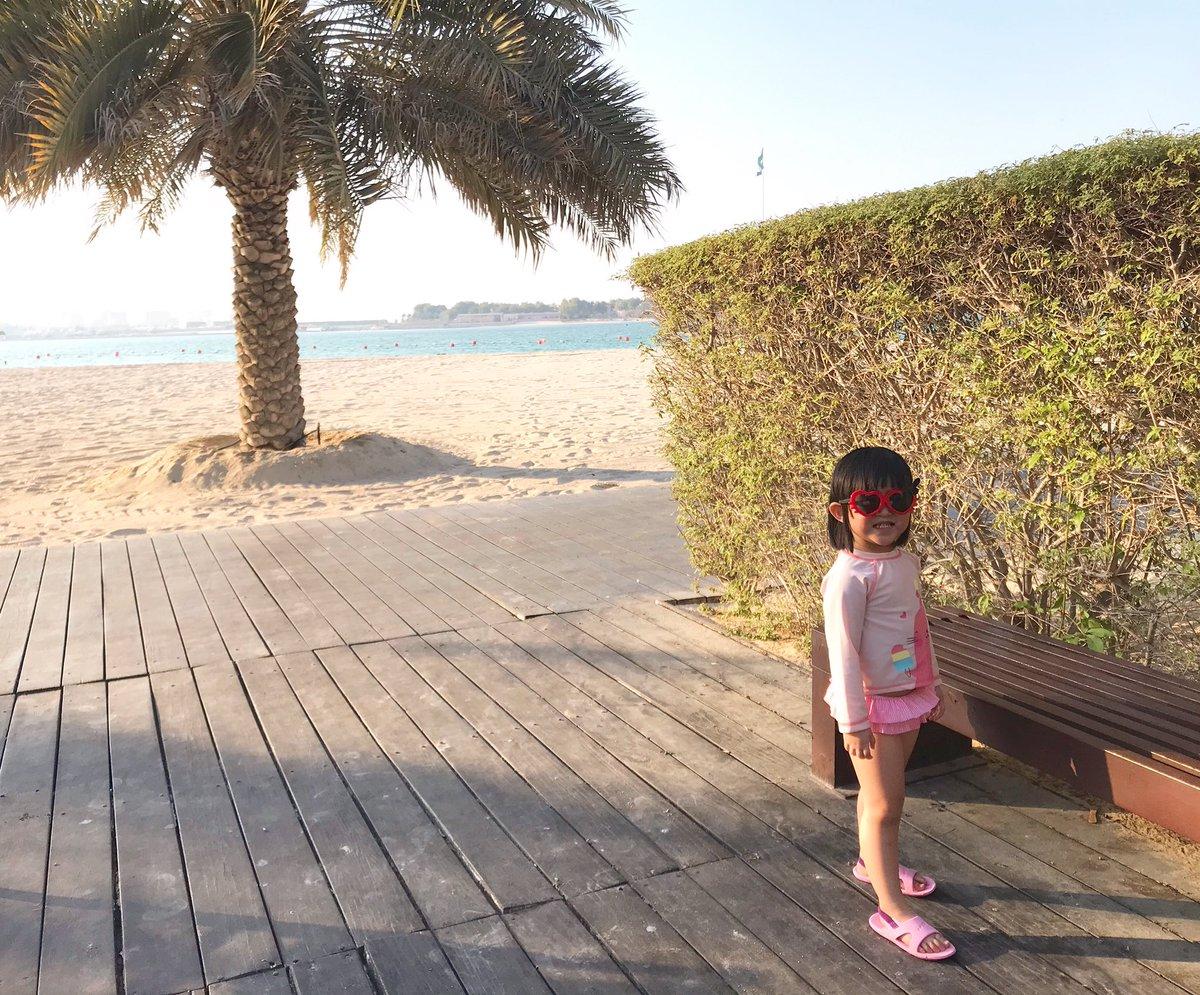 Our baby universe! Lol  Them potato grow so fast ☺️  #sofine #inabudhabi #beachlife #beachbum https://t.co/aa4yUETYsu