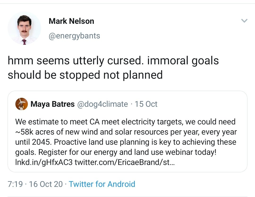 Of course, extracting energy *always* has some impact. But remember the argument here: Shellenberger and his kind want to present renewables as 'incurable' - each genuine challenge *cannot* be fixed. There is no way to do renewables right: