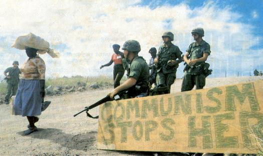 #OtD 25 Oct 1983, the US invaded the Caribbean island of Grenada, ostensibly to protect US citizens but really to assert its dominance over the region. This is Howard Zinn's short account of the events: https://t.co/U5ukWbVizt https://t.co/BlyXWpAQN2