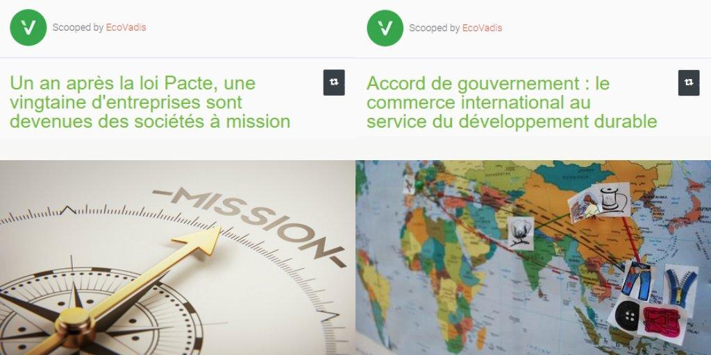 Retrouvez ici les #ActualitésAchatsResponsables : https://t.co/JLeleWLuOG #loipacte #environnement #déforestation #devoirdevigilance #chainesapprovisionnement #Europe #France https://t.co/p9Sv9HOG7u