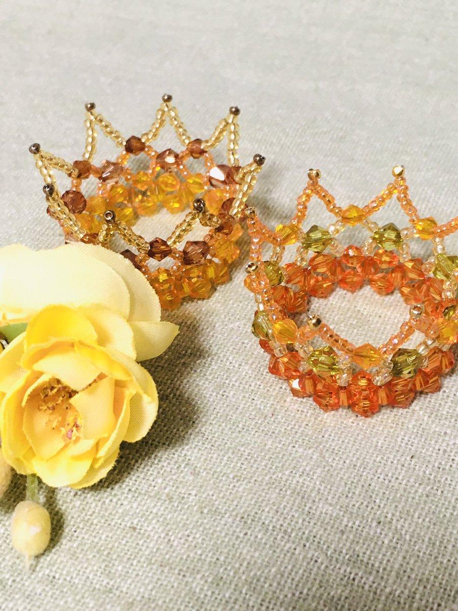 11月1日にインテックス大阪で開催予定のarteVarie に瑠璃工房で参加します。秋なのでオレンジ系のクラウンを少し多めに準備してます。ブロンドのウィッグに似合いますよ。 #arteVarie #アルトヴァリエ #スーパードルフィー https://t.co/n4CuyowWjP