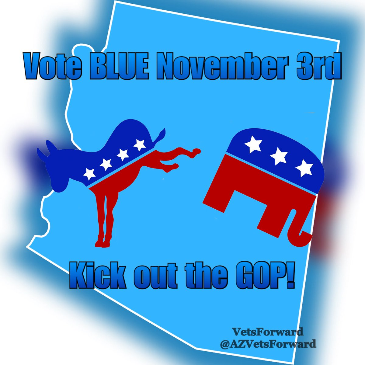 RT if you want to see Arizona turn BLUE on November 3rd!!! #BidenHarrisToSaveAmerica #BlueWave