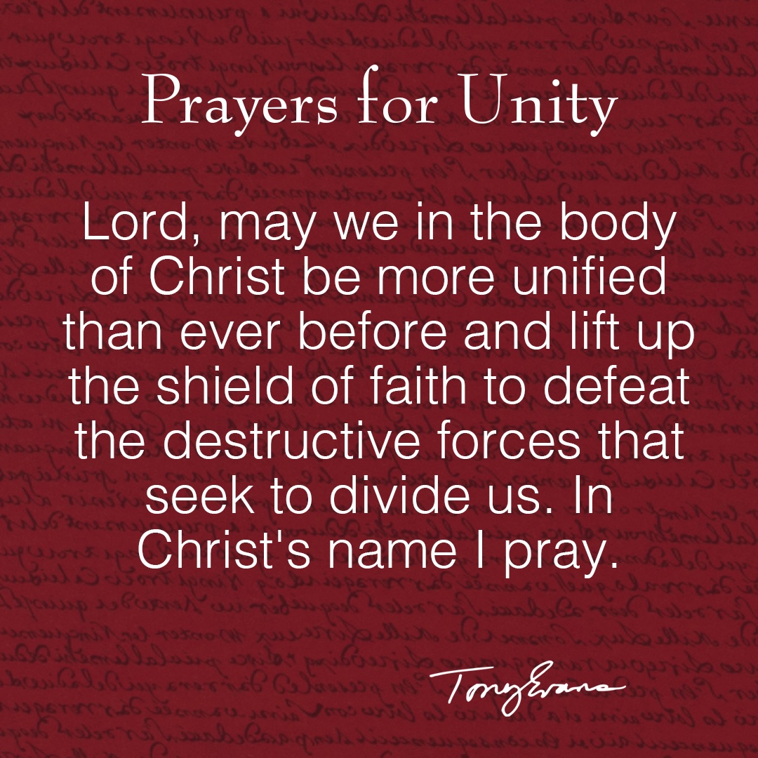 Spend a moment today to say a prayer for #unity https://t.co/kcjL6cHacf
