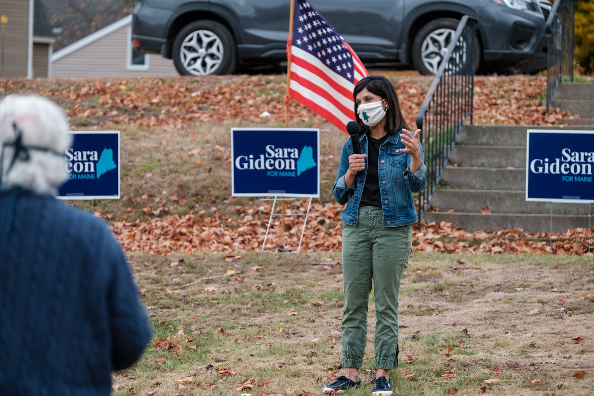 Thank you to everyone who joined me for a wonderful canvass launch in South Paris yesterday morning! We have 9 days left and must make every one of them count. Help us get out the vote: https://t.co/ZS65742v6W #mepolitics https://t.co/uTQDifeOnZ