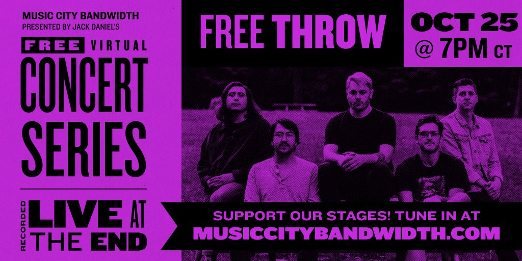 Sunday Funday is here 🤘 Tune in at 7pm CT to see @FreeThrowEmo live from @EndNashville! - #keepthemusicplaying #saveourstages #keepindielive615 #nashville #keep615live #musiccity #musiccityusa #nashvilletn