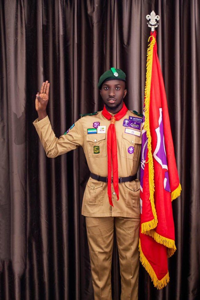 Once a scout, always a scout 🇸🇱☝🏽️  #SaloneTwitter #AlphaMale  #Oniewilliams #QuarantineDrama #HousematesSalone2 #HMSL2 #AYVMediaEmpire #AfricellSL #AfriMoney https://t.co/GD3ovqxkrv