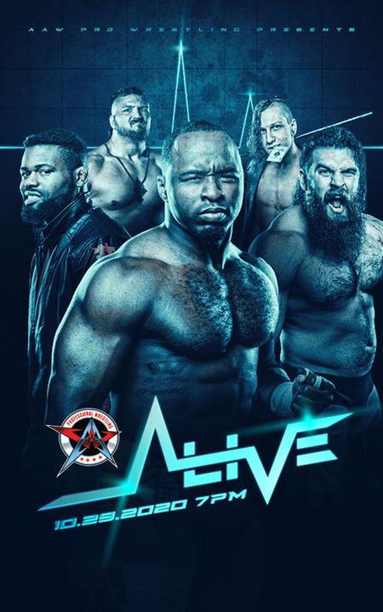 🔥 #Wrestling Code Contest 🔥  I've a free #FITE code to giveaway for @AAWPro #AAWAlive!   To enter:  Like & RT this Tweet  Follow @SteJay215 & @FiteTV  Say the match your most looking forward to!  Winner will find out Oct 29th at 6pm GMT! 🤩  #IndieWrestling #AAW #FITETV https://t.co/tSndlXWMDD